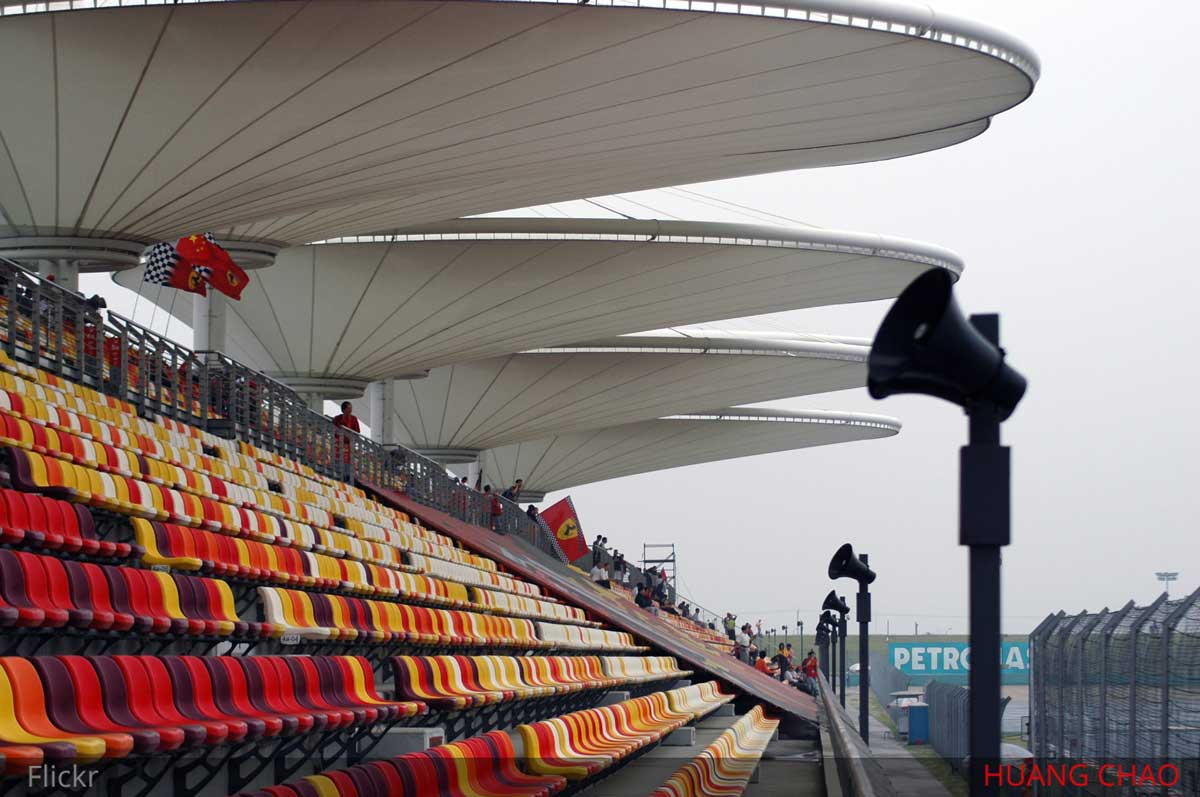 chinese gp grandstand review