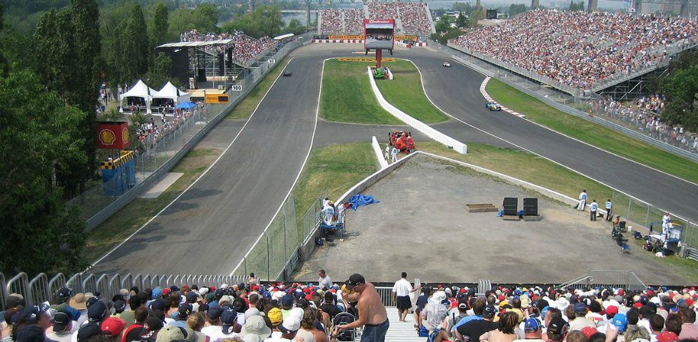 grandstand 34 montreal f1