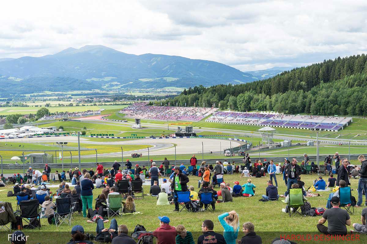general admission austria f1