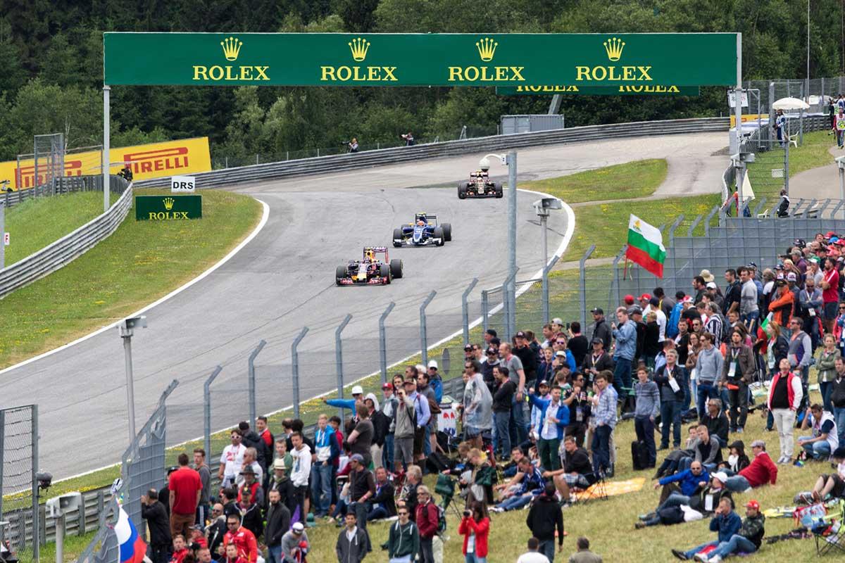 Austrian Grand Prix Where To Watch The F1 Spectator