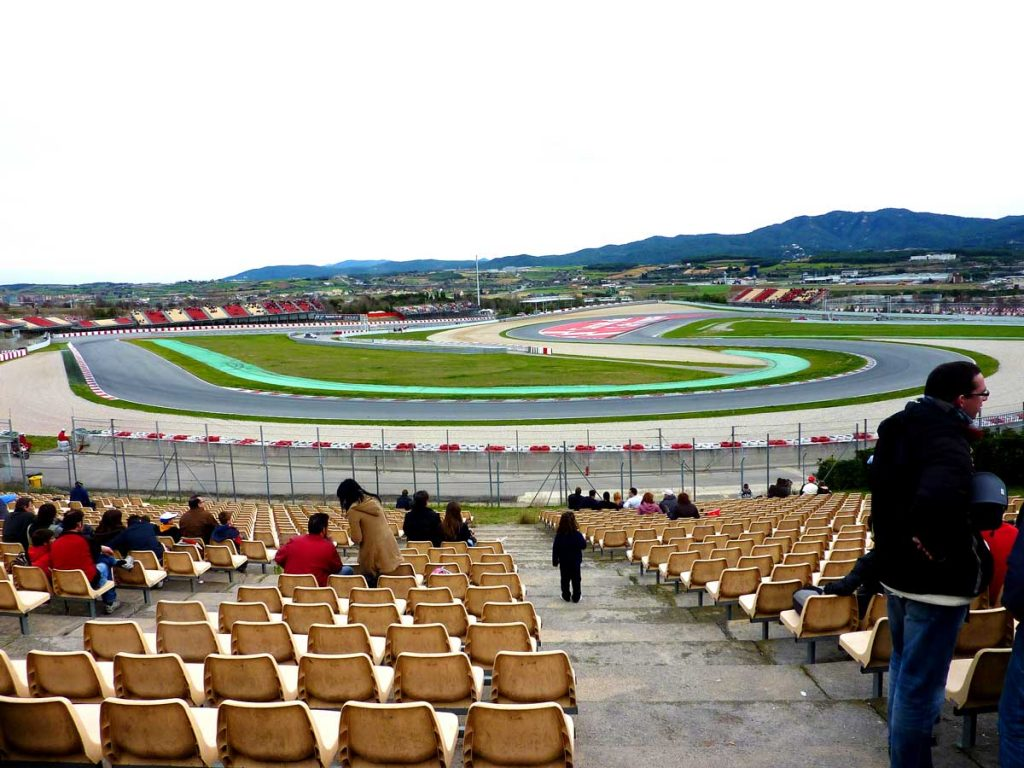 grandstand g view spain