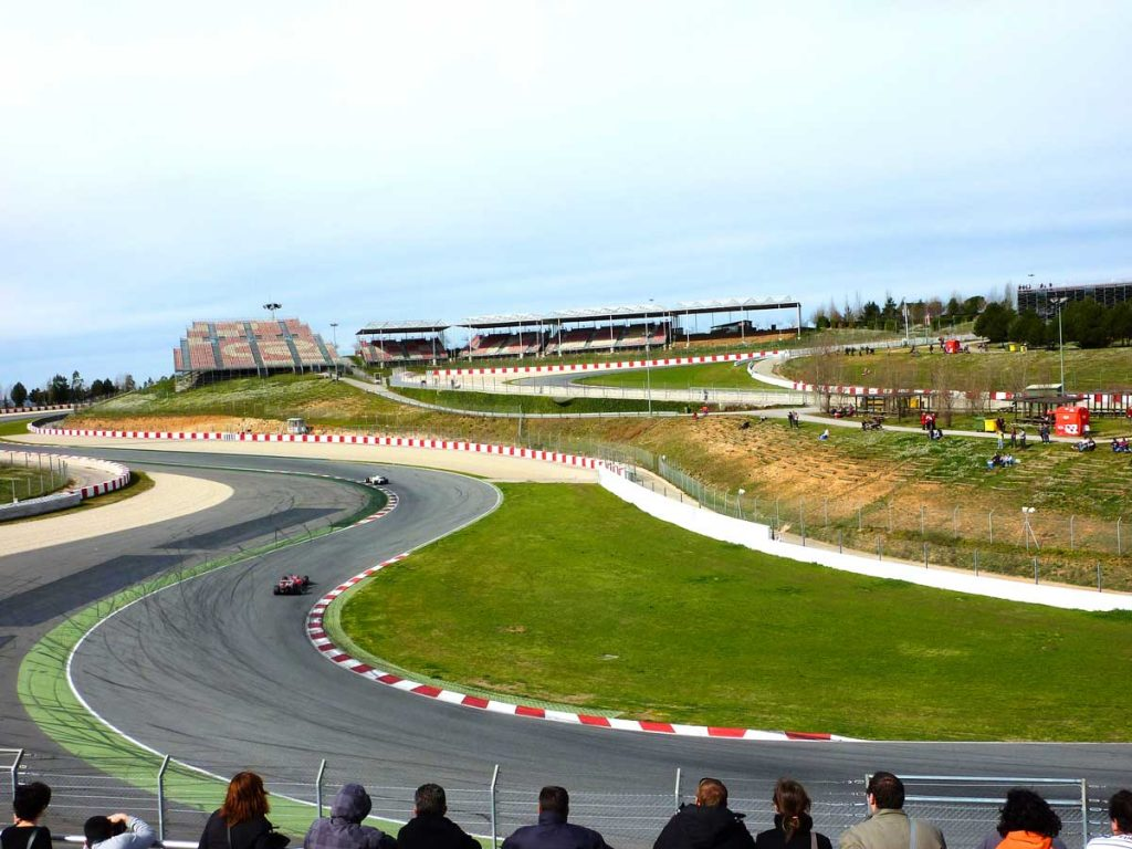 grandstand f view spain