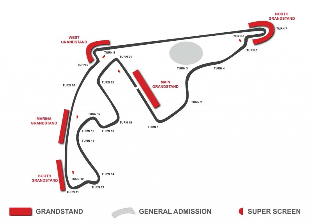abu dhabi circuit map