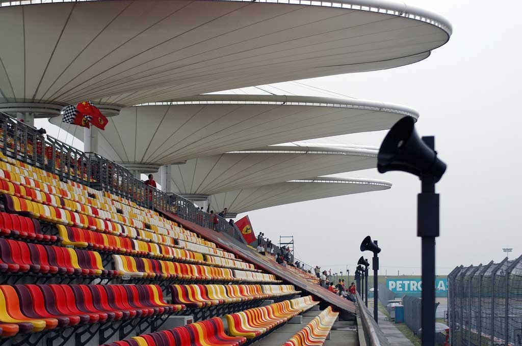 chinese gp grandstands