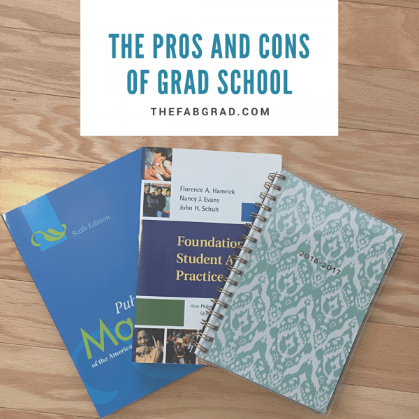 The Pros and Cons of Grad School