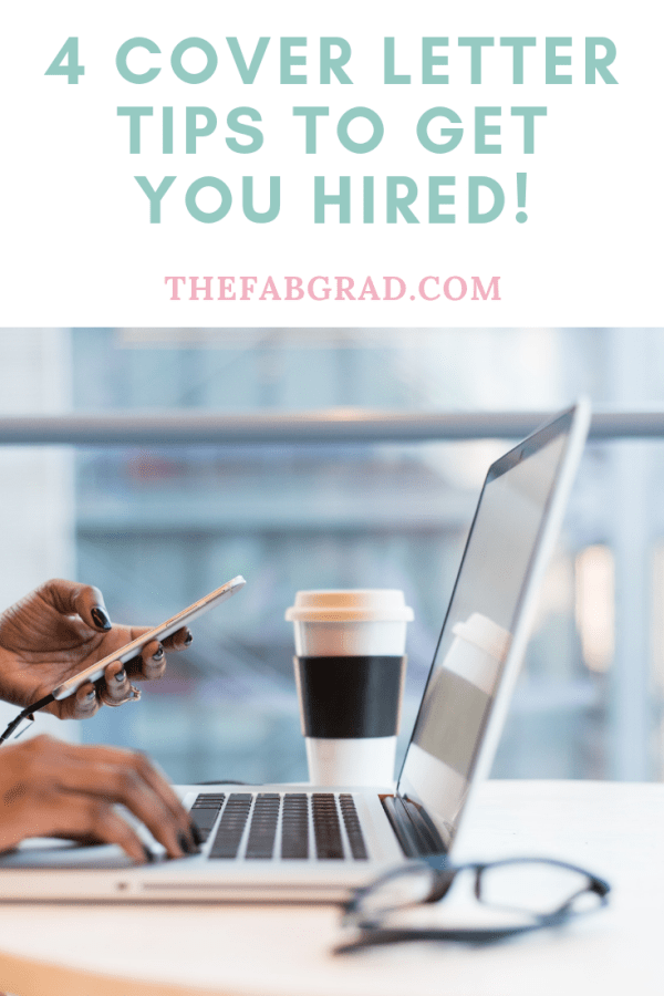 Four Cover Letter Tips to Get You Hired