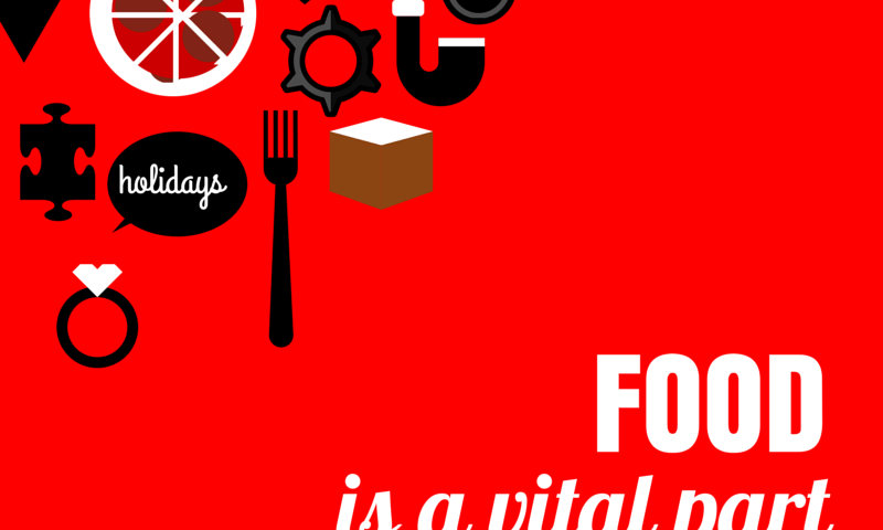 image - food is a vital part of the human experience