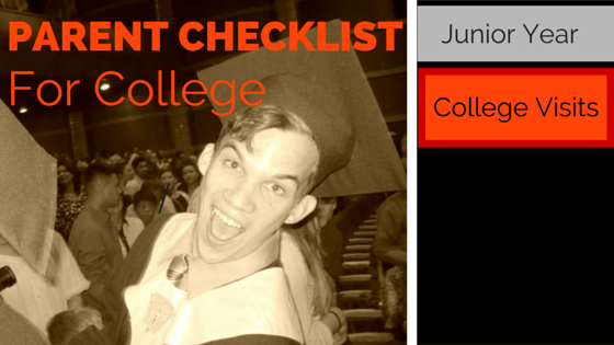 Parent Checklist For College: College Visits