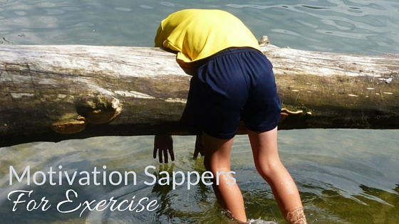 Motivation Sappers For Exercise