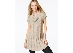Macy's cable knit sweater