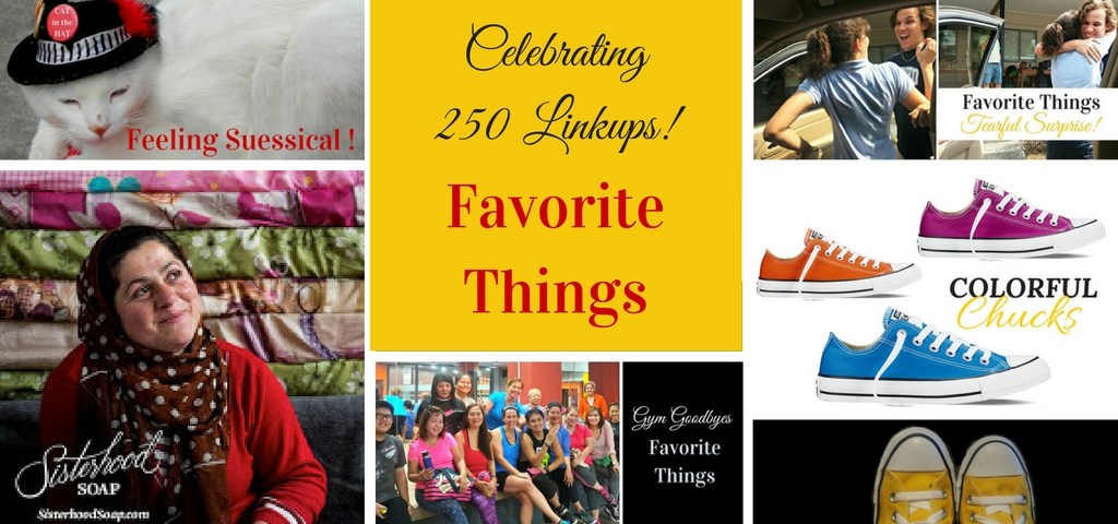 Favorite Things Celebrates 250 Linkups