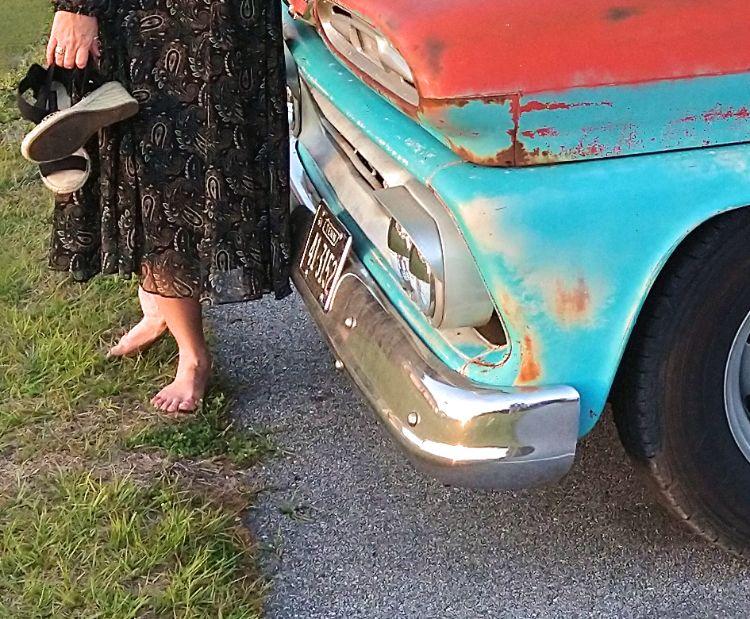 nice dress, great truck