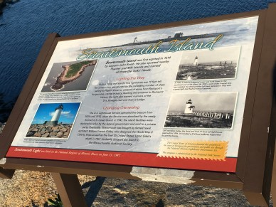STRAITSMOUTH ISLAND INFORMATIONAL SIGN
