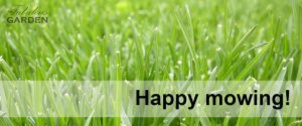 Happy mowing!