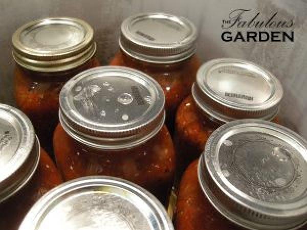 Jars in pressure canner