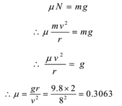 Centrifugal force and Centripetal force: Numerical problems