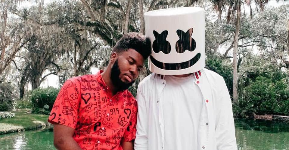 Fall Verse Wallpaper Khalid Teams Up With Marshmello On New Song Silence