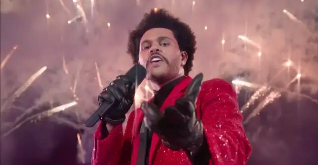 Watch The Weeknd's chaotic, triumphant Super Bowl halftime performance 1