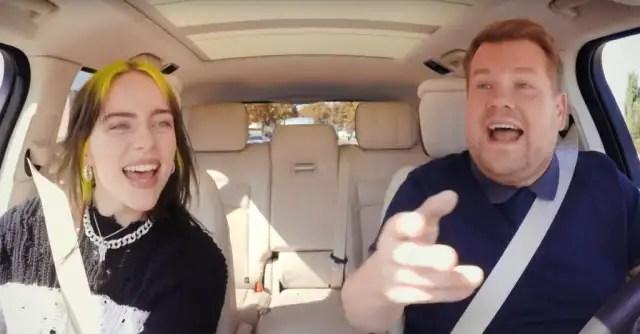 Watch Billie Eilish on Carpool Karaoke 1