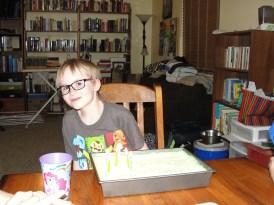 More happy birthday singing.