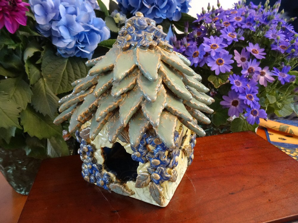 Hydrangea Fairy House