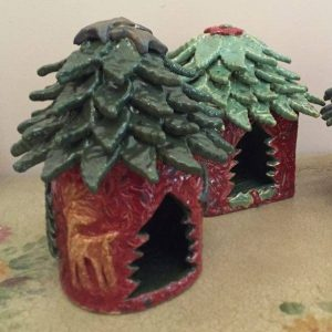 Holiday Fairy Homes