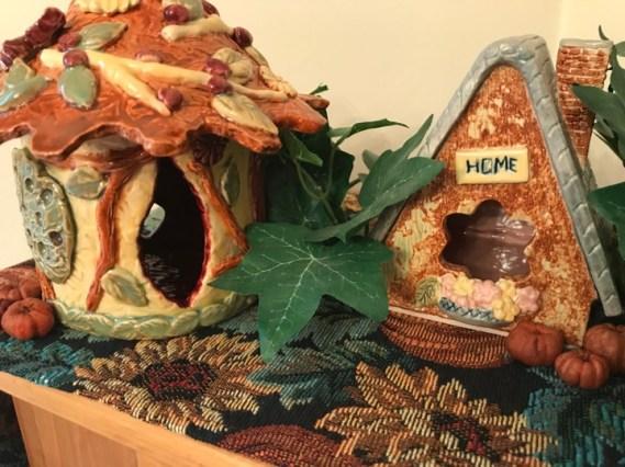 Autumn Fairy Houses