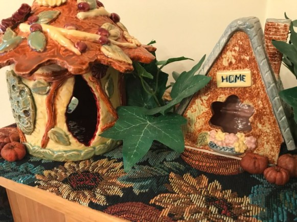 Autumn Fairy Houses