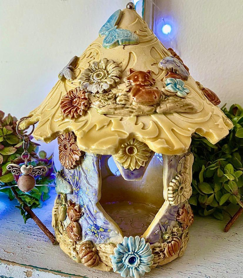 Meadow Fairy House