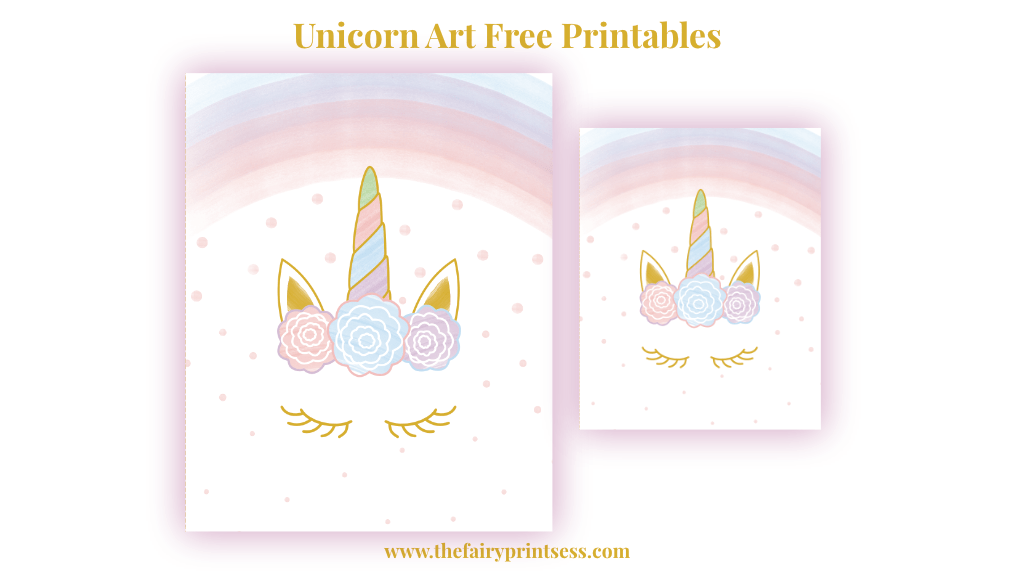photo about Unicorn Eyelashes Printable known as Eyelash Unicorn Absolutely free Printable Artwork - 8x10 and 5x7 dimensions!