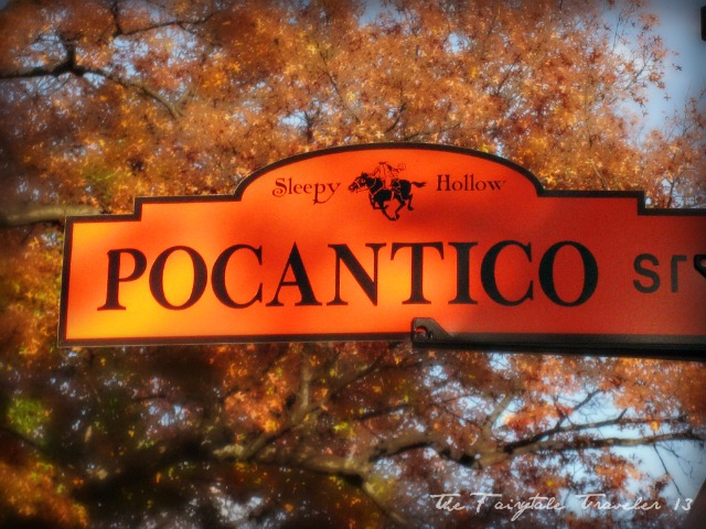 An actual street sign in Sleepy Hollow. The entire town has signs like these. How cool is that!