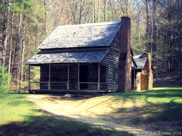 The Henry Whitehead Cabin c. 1895 on Forge Creek Rd near Chestnut Flats, built for Aunt Tildy (Matilda), Great Smoky National Park in Cades Cove. Photo by Brian Stansberry