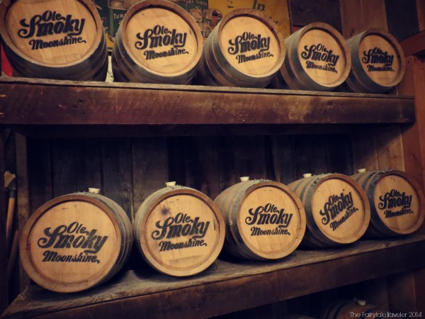 This is how the moonshine is stored. Just like they always were. Ole Smoky distills and stores moonshine just like their grandaddies did, just on a bigger scale.