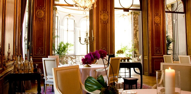 The Vivaldi, upscale dining in the Schlosshotel im Grunewald photo courtesy of Schlosshotel