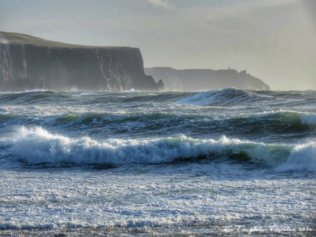 More of Doolin's coastline. It's a wild place to be at times, summer is most enjoyable. We loved it just the same in March.