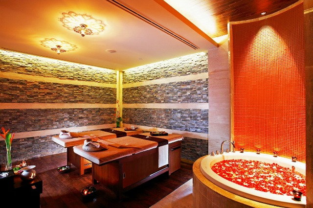 Spa services, I could use this right now.