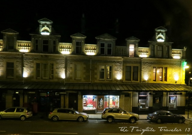 It was this dark by the time I had finally made it to Pitlochry.