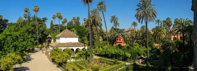 The Alcázar Gardens