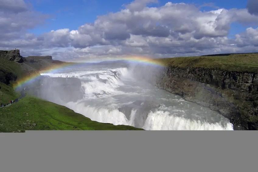 Gullfoss Iceland, the best waterfalls, magical waterfalls