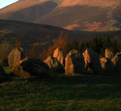 Fairy sites near Manchester, Castlerigg Stone Circle, Keswick