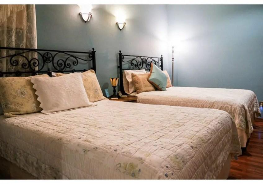 Virgil's Corner, antique bed