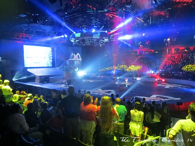 A standing ovation filled the room after the action-packed Marvel Universe Live performance.