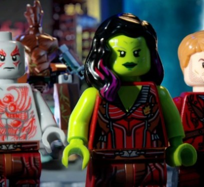 Guardians of the Galaxy in Lego