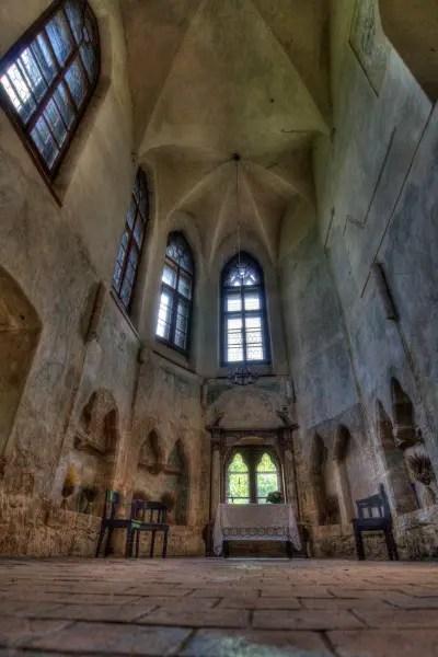 Inside Houska Castle photo provided by Lukas Kalista of Wikimedia Commons