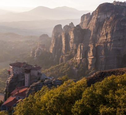 Greece Meteora Game of Thrones Eyrie