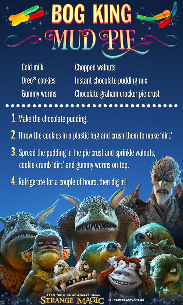 Strange Magic Bog King Mud Pie Recipe