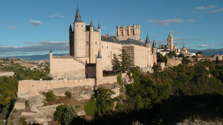 The Alcazar de Segovia
