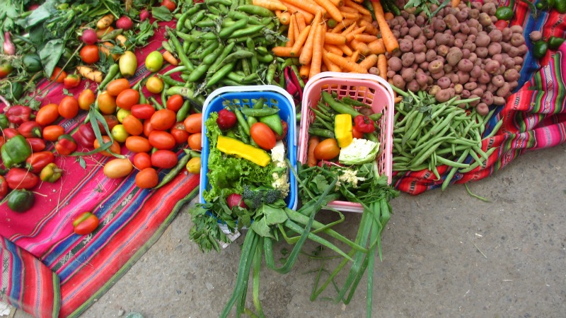 Miniature vegetables that people buy in the belief that they will always have enough food in their house in the future
