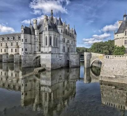 Chateau de Chenonceau Cinderella's Castle, slow travel