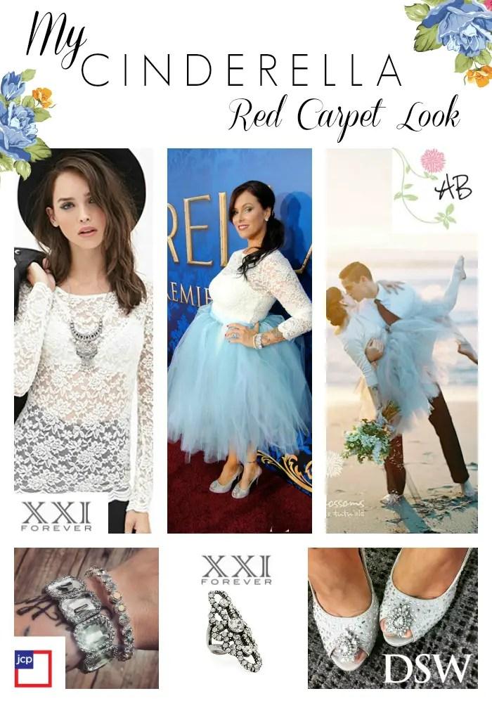 Cinderella Hollywood Premiere Look